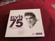 ELVIS 75 THE ANNIVERSARY COLLECTION 4 CD BOX SET 75 TRACKS IN ALL UNPLAYED