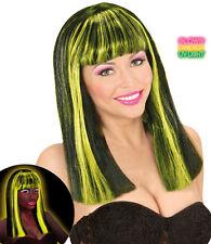Florentina Neon Perücke gelb NEU - Karneval Fasching Perücke Haare