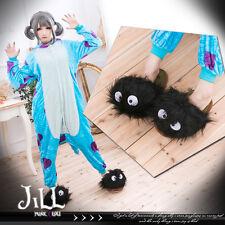 japan anime my neighbour TOTORO susuwatari plushy indoor bed slippers【J1A709】