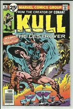 KULL THE DESTROYER #16 1976 BY THE CREATOR OF CONAN! ROY THOMAS STORY! SHARP FN