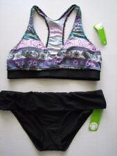 Next Bikini Top Floral Print Navy Size 6,8UK