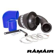 Ramair Cône Filtre À Air Admission Induction Kit bleu silicone Pour VW Golf R32 mk5