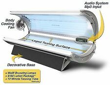 Wolff Sunfire 32r TANNING Bed With Body Fan Audio and Base Cover