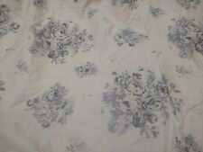 JCPenney Blue Roses Diamond Quilted Full/Queen Comforter/Pillow Shams/Valances