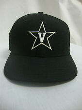 VANDERBILT BALL CAP SIZE 7 NEW ERA COLOR BLACK / WHITE