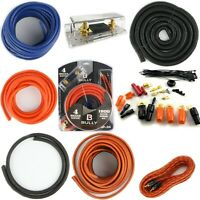 4 Gauge Amplifier Install Kit Complete Amp Wiring Cables, 1800W New Quality