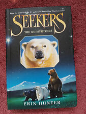 SEEKERS - THE QUEST BEGINS (Book 1) by Erin Hunter (Hardcover)