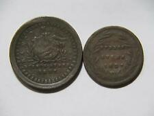 ARGENTINA 1827 5/10 REAL 10 DECIMOS BUENOS AIRES LOW GRADE WORLD COIN LOT 🌈⭐🌈