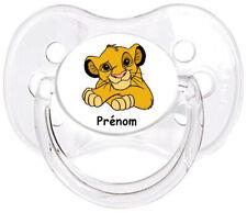 Tétine bébé personnalisée Roi lion Simba E18  - Custom Pacifier BABY