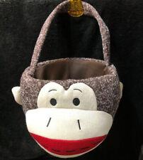 Dan Dee SOCK MONKEY  Knitted Tote Bag With Handle