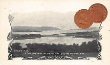 Water View Digby NS 1904 1 Cent Coin Postcard