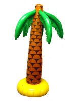168cm Inflatable Palm Tree Hawaiian Luau Summer Party Decoration Prop Beach Fun