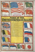 MUSIC AND LYRICS SONGS OF UNITED STATES AND HER ALLIES