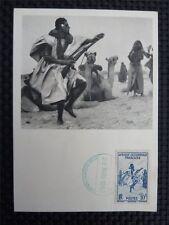MAURETANIE MK 1952 KAMEL CAMEL MAXIMUMKARTE CARTE MAXIMUM CARD MC CM c2407