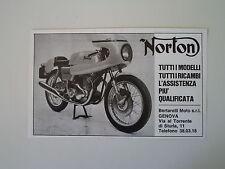 advertising Pubblicità 1971 MOTO NORTON COMMANDO 750