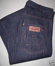 WRANGLER jeans SPENCER tessuto strisciato blu notte