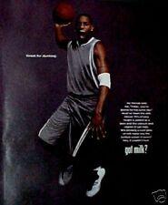 2006 Tracy MaGrady Orlando Magic Basketball Got Milk Art Ad