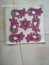 Indian Diwali Rangoli Reusable Home Decor Acrylic Decorative Pooja Designs
