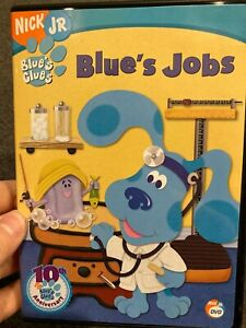 Blue's Clues - Blues Jobs region 1 DVD (Nick Jr kids series)