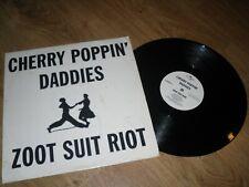 promo CHERRY POPPIN DADDIES - ZOOT SUIT RIOT records VINYL LP rap