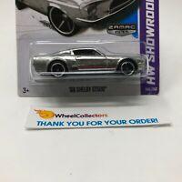 Bad Card * '68 Shelby GT500 #245 * Zamac * 2013 Hot Wheels * HC13