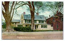 1912 Page House, Danvers, MA Postcard