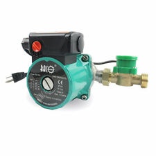 BACOENG 3/4'' 110V 3-Speed Control Hot Water Circulation Pump With Flow Switch