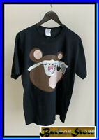 New vtg 2007 Kanye West Glow In The Dark Tour Murakami Bear Men's T-Shirt SizeUS