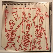 "NEW Awol One & Daddy Kev EP 12"" 2001 Meanstreet HIP HOP ABSTRACT RUDE 2 Mex"
