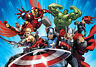 368x254cm Giant wall mural wallpaper childrens room Avengers comics marvel heroe