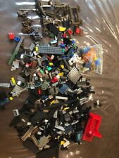 mini bricks Assorted Pieces 2 lbs 11 Ounces With 5 Minifigs (all Are Non-lego)