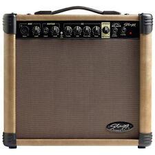 F570088 Stagg 20 AA R eu Amplificateur de Guitare Acoustique avec Spring Reverb