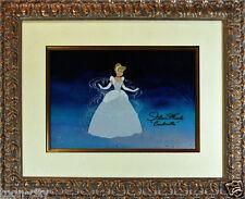 Cinderella Cel Ballgown Disney Sericel vintage 1988 issued signed Ilene Wood