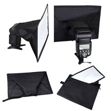 Universal 30x20cm Flash Softbox Diffuser for Canon 580EX 430EXII Nikon Speedlite