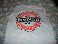 BALI BREWERY BINTANG BEER ADVERTISING L-SIZE SHIRT