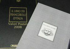 Italia Libro dei francobolli 2008 Buca delle lettere Completo DI francobolli