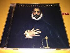 VANGELIS cd EL GRECO moviement I ~ X