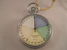 VINTAGE GALLET YACHTING TIMER SWISS MADE RACE STOPWATCH