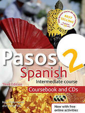 Pasos 2 Intermediate Course in Spanish: Coursebook and CDs by Hodder...