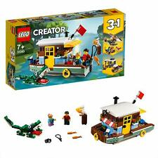 LEGO 31093 Creator 3-IN-1 Model Riverside Houseboat Seaplane Fishing Village
