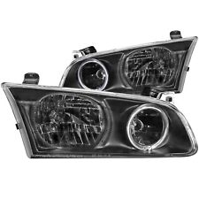 ANZO HEADLIGHTS HALO BLACK FOR 00-01 TOYOTA CAMRY 4DR