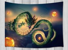 Pequeño chino Feng Shui Rojo y Dorado Pana Colgante de Pared Dragón de desplazamiento