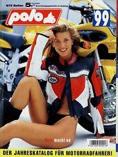 Polo Katalog 1999 672 S. Motorradzubehör Helme Jacken Handschuhe Protektoren u.a