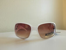 Panama Jack Shutter Resistant Lenses White Sunglasses 100% UVA & UVB Orig.$18.99