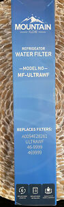 NEW Sealed MOUNTAIN FLOW 46-9999 REPLACEMENT Refrigerator FILTER MF-ULTRAWF