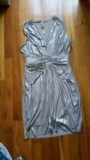 Bailey 44, women's silver dress, size small