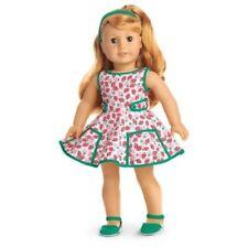 American Girl Doll Maryellen'S Traje Vestido Fresa-Nuevo En Caja