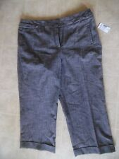 Dressbarn  Gray capri  Pants size 14