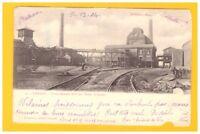 DENAIN (59) WAGONS FERROVIAIRES à la FOSSE RENARD / PUITS de MINE avant 1904