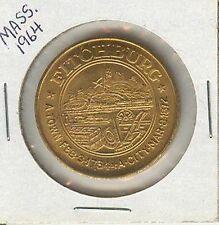 1764-1964 Fitchburg, Massachusetts, 50¢ piece - Municipal Trade Token